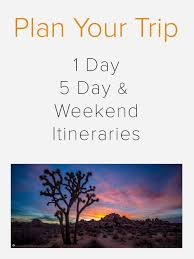 top 10 tips for visiting the park u2014 joshua tree visitors guide