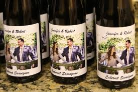 Wedding Favors Wine Bottle Wedding Favors You Make With Custom Labels