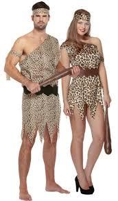 caveman tarzan adults fancy dress halloween jungle mens ladies