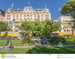 montreux palace hotel royalty free stock photography image 34127377