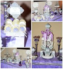 diamonds and pearls bridal wedding shower party ideas photo 2 of