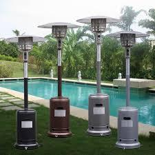 Garden Sun Patio Heater Manual by Garden Propane Standing Lp Gas Steel Accessories Heater Patio