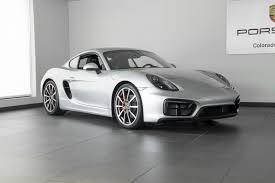 porsche cayman silver 2016 porsche cayman gts for sale in colorado springs co p2807