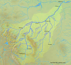 Map Of Montana And Wyoming by Yellowstone River American Rivers