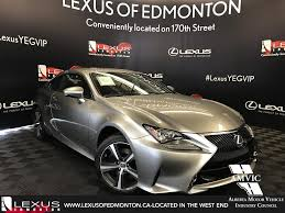 lexus enform app canada pre owned 2017 lexus rc 300 demo unit premium package 2 door car