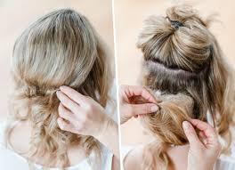 Hochsteckfrisuren Mittellange Haar Einfach by Haare Einfach Hochstecken Trends Ideen 2017