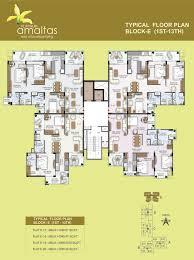 floor plans amaltas at jaipur govind kripa buildhome pvt ltd