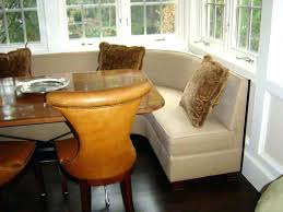 dining room booth dining banquette with round table stunning