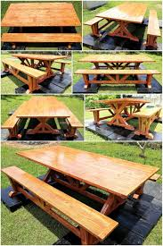 Patio Furniture Using Pallets - wood pallet furniture ideas plans and diy projects