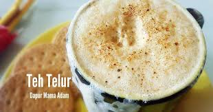 Teh Telur resep teh talua teh telur minuman penambah stamina khas sumatera
