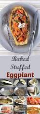 baked stuffed eggplant balkan lunch box
