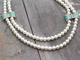 pearl bow necklace images Pearls and bows necklace jpg