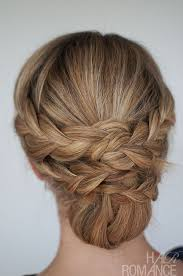upstyle hair styles hairstyle how to easy braided updo tutorial hair romance
