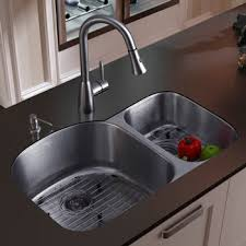Quality Stainless Steel Undermount Sinks - Double bowl undermount kitchen sinks