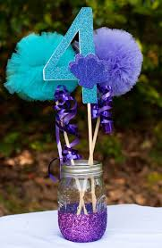 home design appealing birthday party center pieces turquoise and