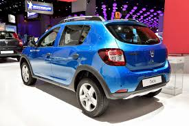 renault lodgy specifications paris motor show 2014 dacia lodgy stepway and dokker stepway