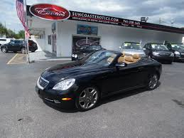 lexus for sale fl 006774 2006 lexus sc 430 suncoast exotics used cars for sale