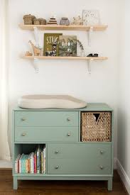 Simple Changing Table Nursery Completed The Fresh Exchange L I T T L E R O O M S