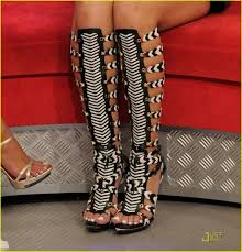 gladly walk a mile in gladiator sandal style strutting in style