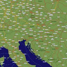 Italy Train Map Austria Rail Travel Map European Rail Guide