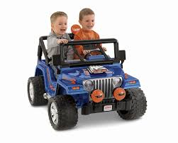 Amazon Com Power Wheels Wheels Jeep Wrangler Toys U0026 Games