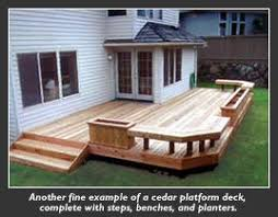 Deck Planters And Benches - google image result for http www powercleansystems net images