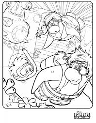 coloring pages of club penguin club penguin underwater expedition colouring page club penguin