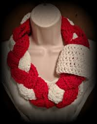 braided scarf white braided infinity scarf free crochet pattern