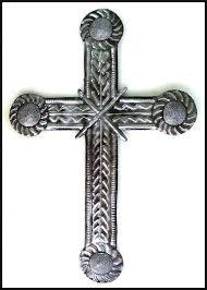 Cross Wall Decor by Unique Metal Cross Wall Decor Christian Cross Wall Haitian