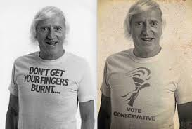 Jimmy Savile Meme - another jimmy savile vote conservative hoax image goes viral