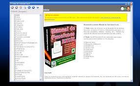 manual de funciones excel descargar