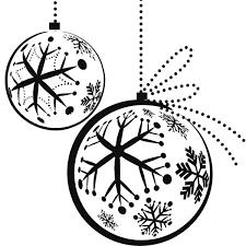 dibujos navideñas para colorear de navidad bola navideña para colorear