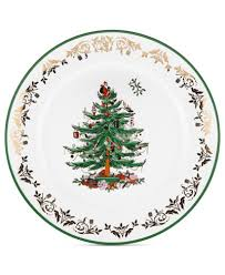 spode tree gold charger china macy s