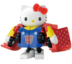 Hello Kitty Halloween Fabric by Amazon Com Transformers Qtc01 Hello Kitty Toys U0026 Games