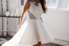 robe mari e courte devant longue derriere robe de mariée courte devant meryl suissa