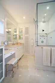 Custom Bathroom Vanities Ideas Bathroom Vanity With Seating Area Lots Of Storage And Glass For A