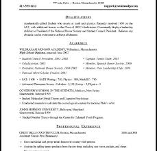 Sample Of Resume For Job by Download Sample Resume Formats Haadyaooverbayresort Com