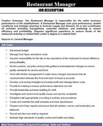 Kitchen Manager Resume Sample by Download Library Restaurant Management For Restaurant Owners