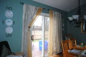 Patio Door Curtain Rod Patio Door Curtain Rods For Sliding Drapery 89 New Rod
