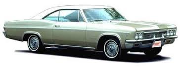 1966 chevrolet impala information
