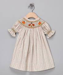 orange thanksgiving bishop dress infant toddler zulily