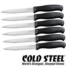 steel kitchen knives barringtons swords cold steel kitchen knives classic set of six