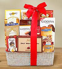 christmas chocolate gift baskets gourmet christmas candy