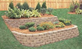 Backyard Flower Bed Ideas Retaining Wall Flower Bed Ideas