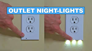 turn light socket into outlet these outlets turn into night lights when it gets dark youtube