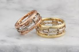 wedding band alternatives barbed wire wedding band
