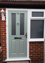 composite door glass exterior design cheap black composite door with 2 frosted glass