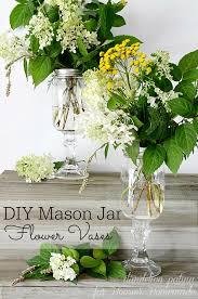 jar arrangements diy jar vases hoosier