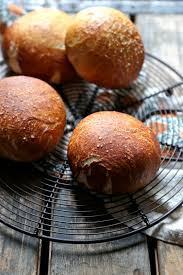sausage sour dough filled pretzel rolls country cleaver