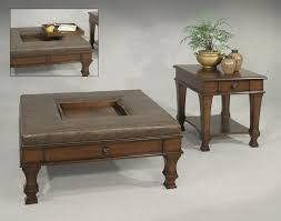 tray top end table furniture outstanding design of squared tray top coffee table set